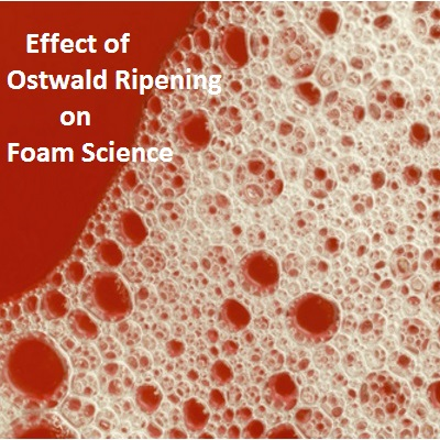 Effect of Ostwald Ripening on Foam Science