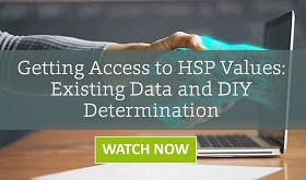 Getting Access to HSP Values: Existing Data and DIY Determination