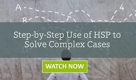 Step-by-Step Use of HSP to Solve Complex Formulation Cases