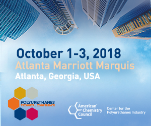 2018 Polyurethanes Technical Conference