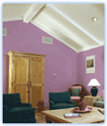 Interior wall paints are mainly used for decorative purposes
