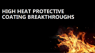 High heat protective coatings