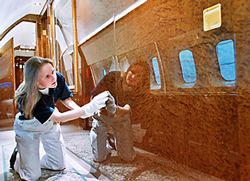 BASF Coatings' paints used to customize private jets