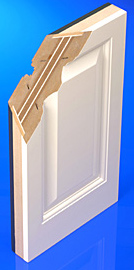 For doors: Palusol® sandwich panels for fire protection and PermaSkin® for the finishing of doors.