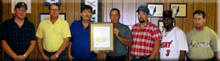 Florida Employees Win Sentinels of Safety Award