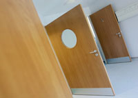 British door manufacturer using BASF film system for surface finishing