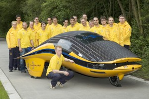 Coatings solutions for cars of the future  Test at World Solar Challenge in October in Australia