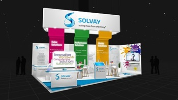 Solvays Booth at ECS 2017