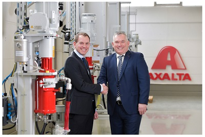 Axalta Coating Systems Opens New Color Solutions Center in Frankfurt