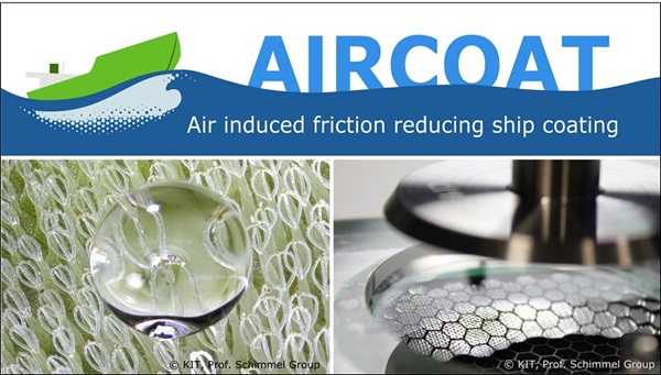 Biomimetic Hull Coating for Reduce Frictional Resistance of