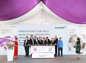 Top News this Week: Clariant Opens Additives Facilities