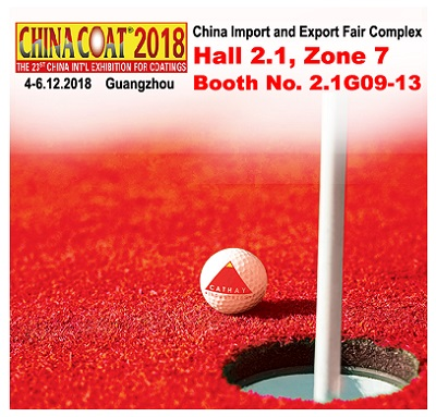 CATHAY INDUSTRIES to Highlight Iron Oxide Pigments and more at CHINACOAT 2018