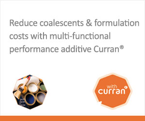 Reduce coalescents & formulation  costs with  multi-functional performance additive Curran®