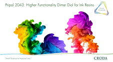Higher functionality Dimer for Inks Resins