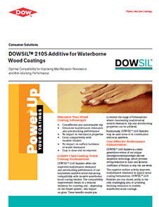DOWSIL 210S Additive for Waterborne Wood Coatings