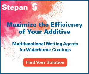 Stephan multifunctional wetting agents for waterborne coatings
