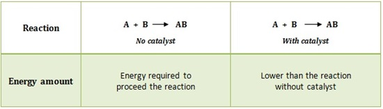 Catalyst Reaction